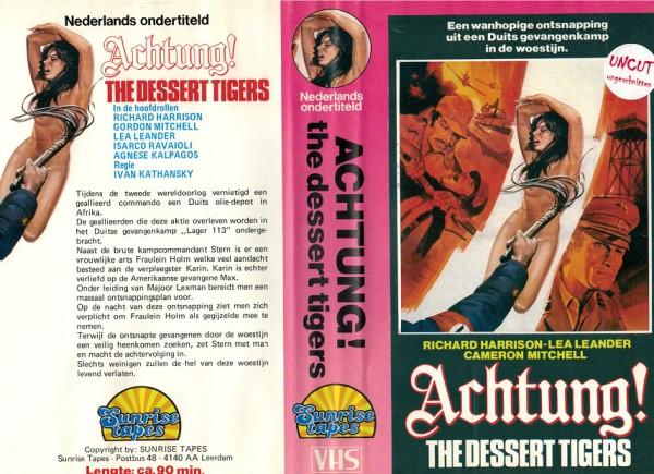 Achtung - The desert tigers - Wüstenfüchse kennen kein Erbarmen - NL Import