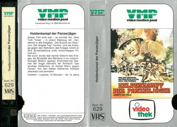Heldenkampf der Panzerjäger - Jenseits der Hölle (VMP Glasbox)