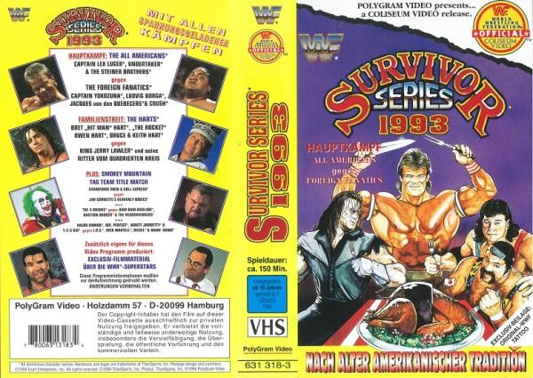 Survivor Series 1993 (WWF Wrestling)