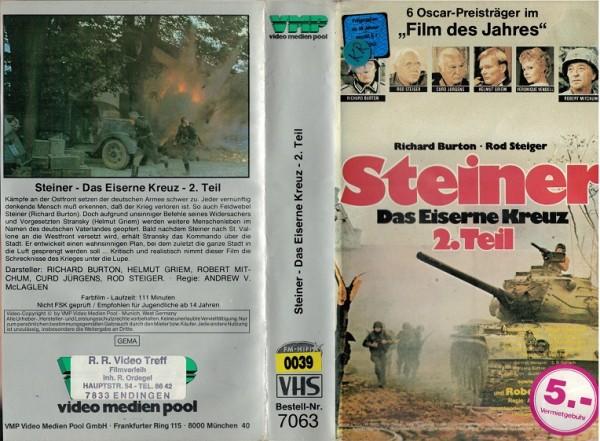 Steiner 2 - Das Eiserne Kreuz, 2.Teil / Cross of Iron 2(VMP)