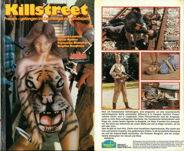 Killstreet - Frauen gefangen im Dschungel der Großstadt (Hartbox)