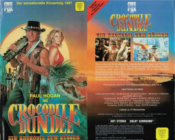 Crocodile Dundee (Hartbox)