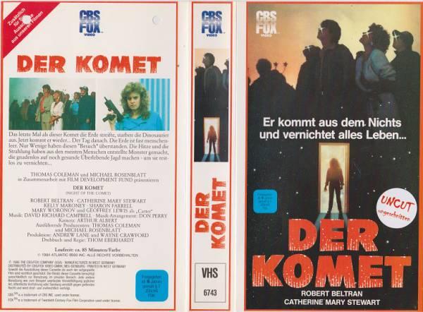 Komet, Der