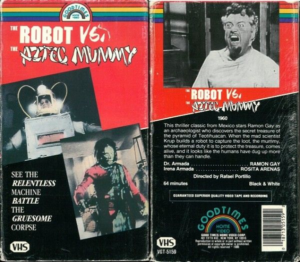 Robot vs. the Aztec mummy, The (US Import Pappschuber)
