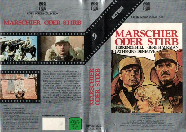Marschier oder stirb (CBS Silver Screen)