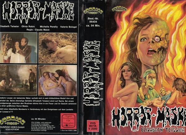 Horror-Maske - Das blutige Schloß der lebenden Leichen
