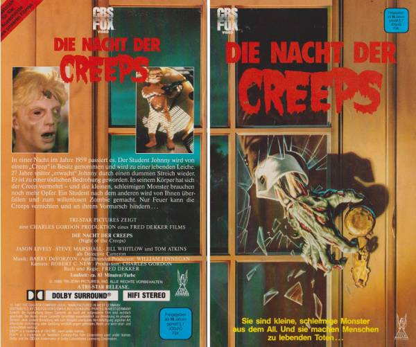 Nacht der Creeps, Die
