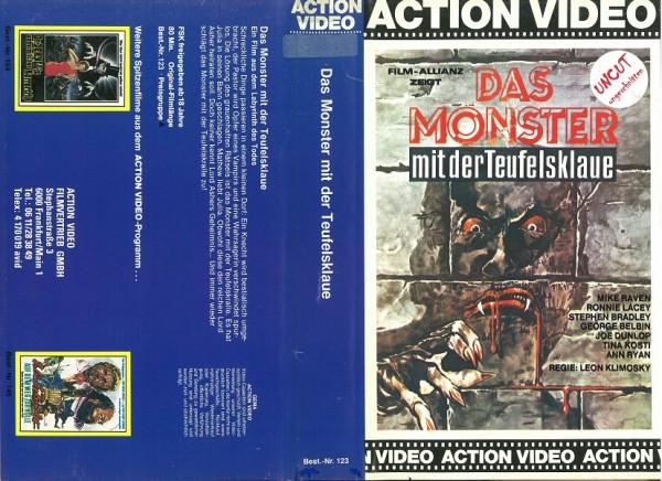 Monster mit der Teufelsklaue, Das (Action Video)