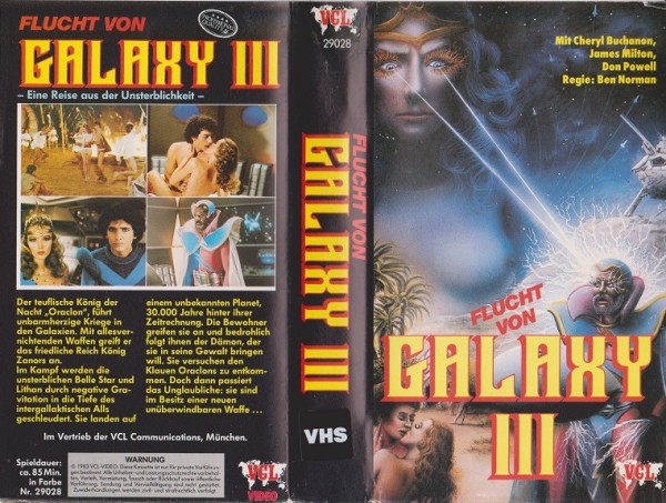 Flucht von Galaxy 3