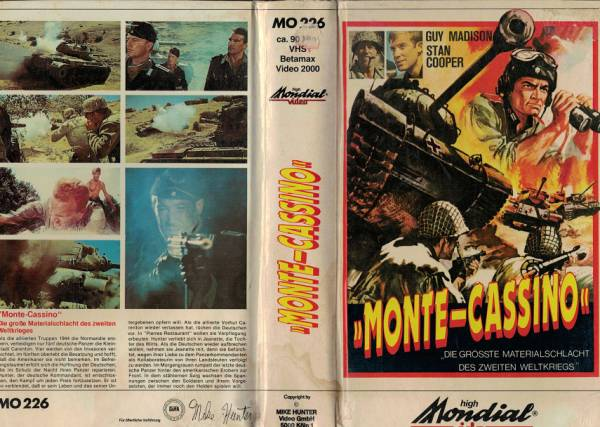 Monte Cassino - Hartbox
