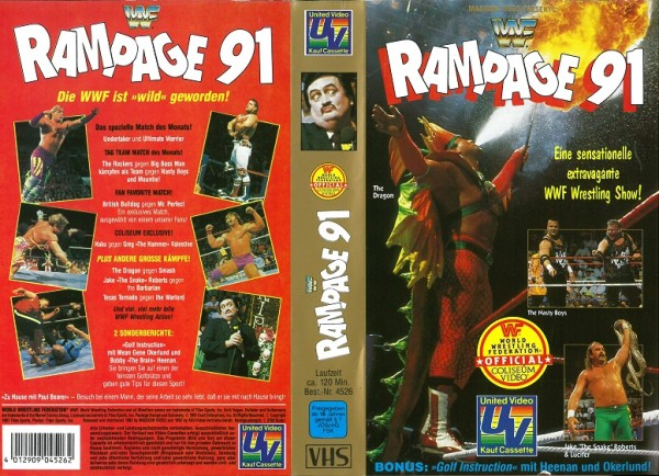 Rampage 91 (WWF Wrestling)