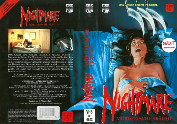 Nightmare on Elm Street - Mörderische Träume - UNRATED (CBS gross)